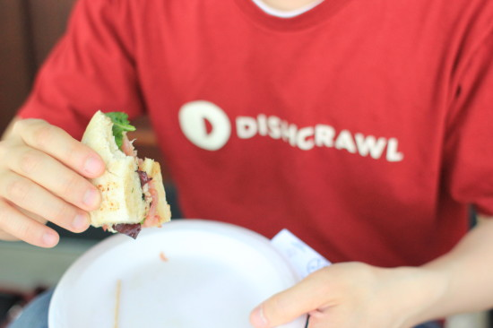 Dishcrawl t-shirt