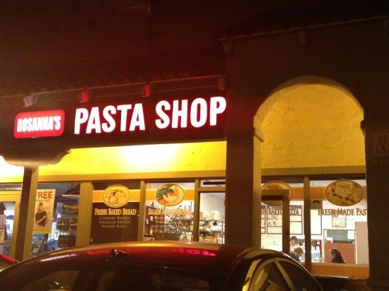 Rosanna's Fresh Pasta and Pizza (Encinitas)