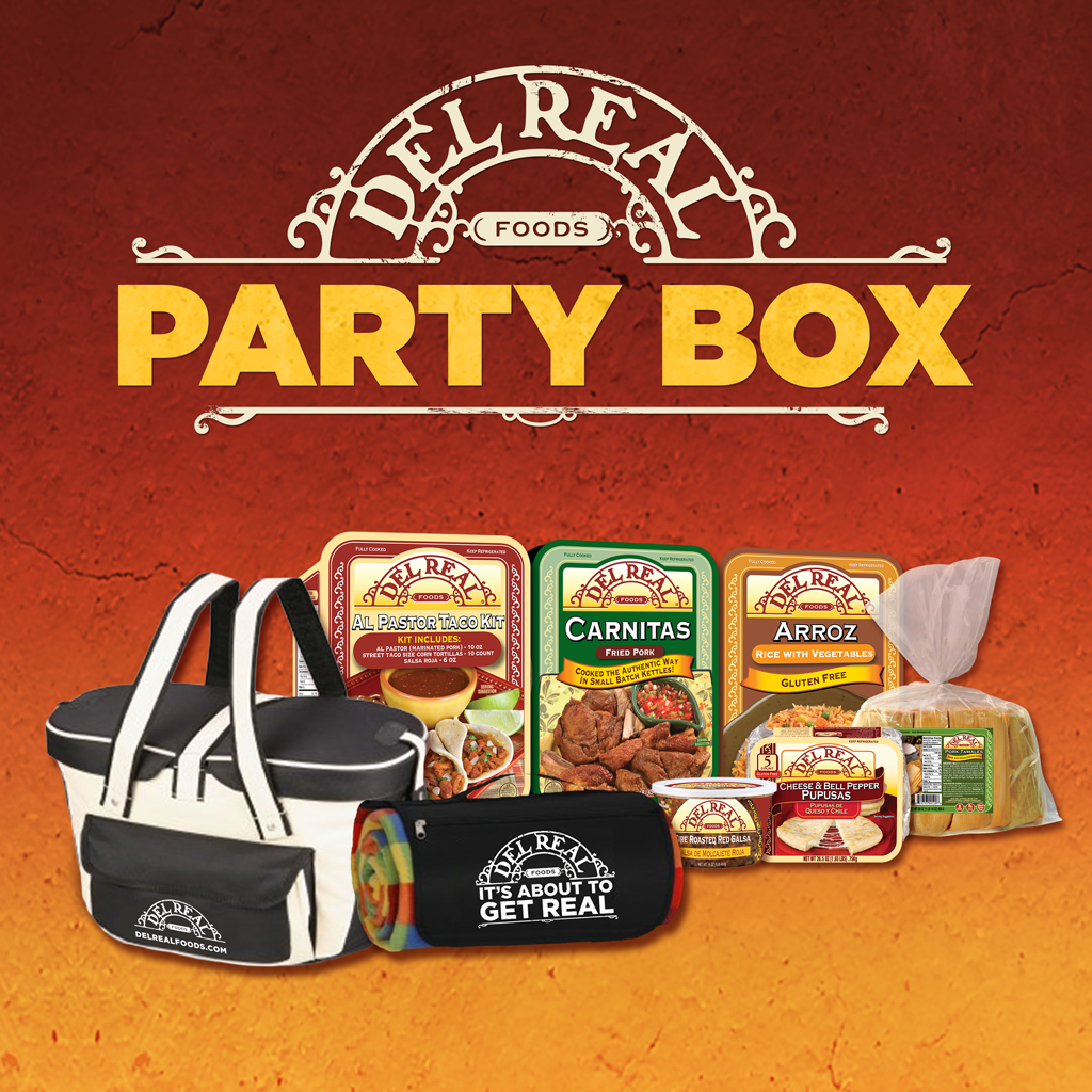 Del Real Foods Review + Party In A Box Giveaway